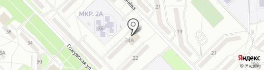 Магазин штор на карте Саранска