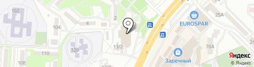 Магазин автозапчастей на карте Саранска