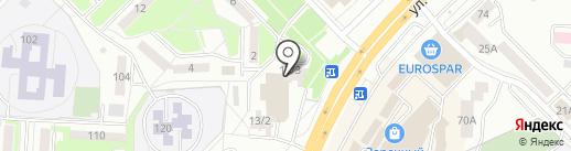 Винмаркет на карте Саранска