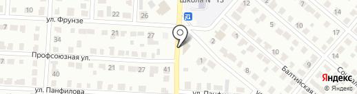 Товарищ на карте Саранска