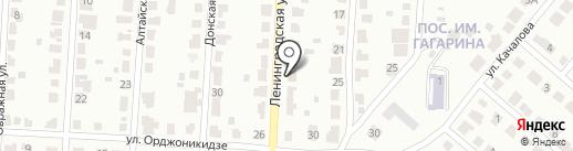 Почтовое отделение №12 на карте Саранска