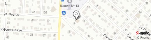 Семья на карте Саранска