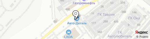 Авто-Dеталь на карте Саранска