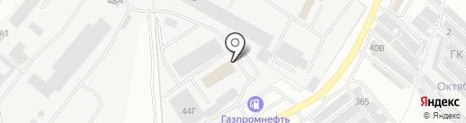 Светофор на карте Саранска
