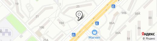 Карандашик на карте Саранска