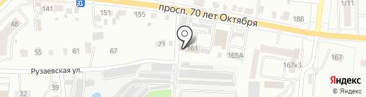 Городская управляющая компания Октябрьского района на карте Саранска