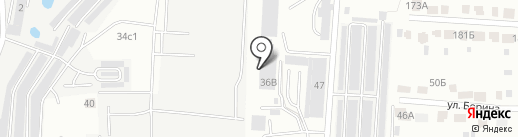 ГлавДеталь на карте Саранска