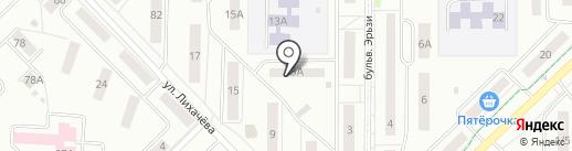 Участковый пункт полиции на карте Саранска