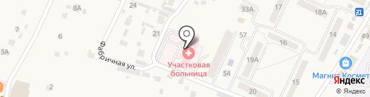 Чемодановская участковая больница на карте Чемодановки