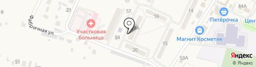 Коралл на карте Чемодановки