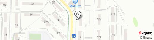 Бизнес-партнер на карте Саранска