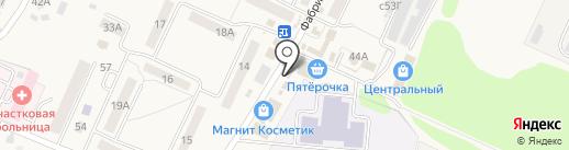 Танюша на карте Чемодановки