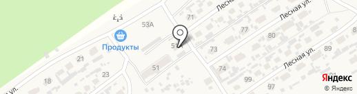 Ладога на карте Сосновки