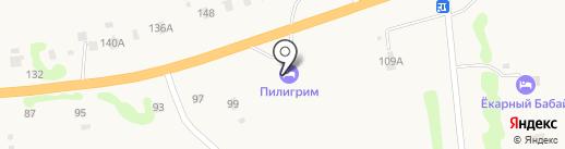 Пилигрим на карте Кижеватово