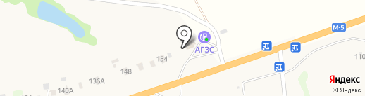 Шиномонтажная мастерская на карте Кижеватово