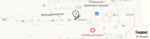 Кижеватовская врачебная амбулатория на карте Кижеватово