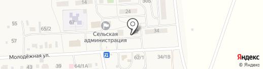 Отделение почтовой связи на карте Кижеватово