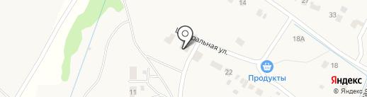 Отделение почтовой связи на карте Саранска