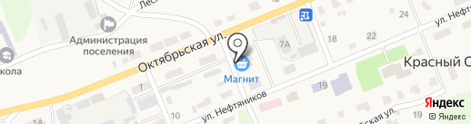 Qiwi на карте Красного Октября