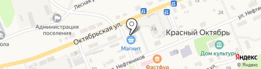 Парикмахерская на карте Красного Октября