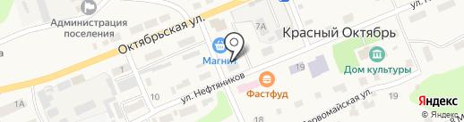 Продуктовый магазин на карте Красного Октября