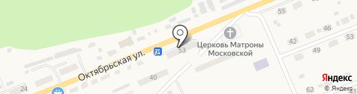 Храм святой Блаженной Матроны Московской на карте Красного Октября