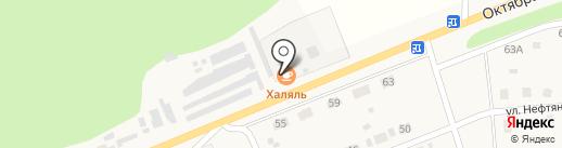 Халял на карте Красного Октября