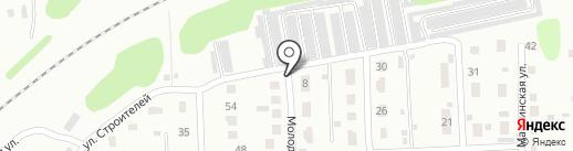 Баня на карте Саратова