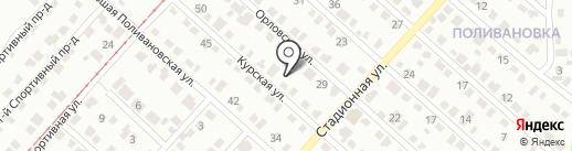 Сархолд на карте Саратова