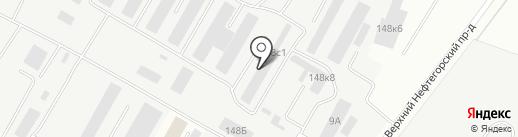 Сюжет на карте Саратова