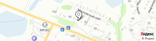 Каменный цветок на карте Саратова