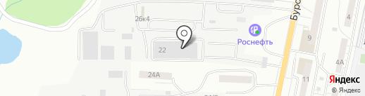 Тахомаркет на карте Саратова