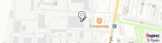Автосистемы С на карте Саратова