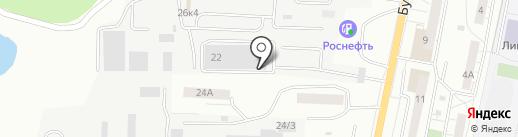 Эко Клининг на карте Саратова