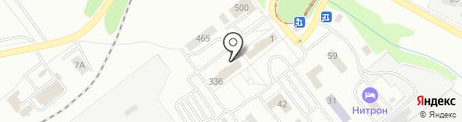 Медис на карте Саратова
