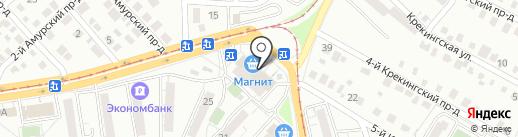 Кега на карте Саратова