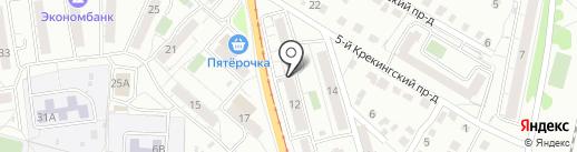 Сильвия на карте Саратова