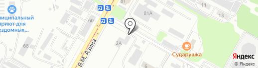 Материк РТИ на карте Саратова