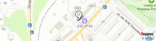 СплавПрофиль на карте Саратова