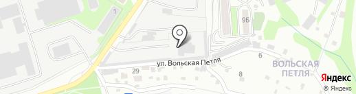 Сарко на карте Саратова