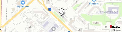 Магазин трикотажных изделий и домашнего текстиля на карте Саратова