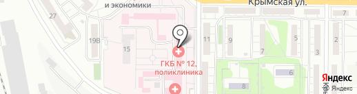 Аптечный пункт на карте Саратова