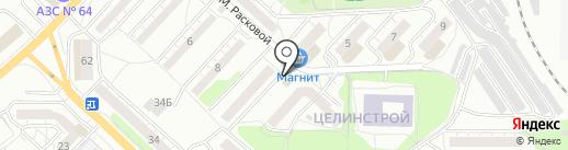 Кружкин на карте Саратова