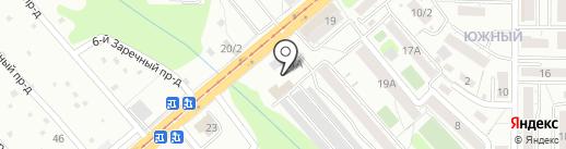 АвтоМарКа на карте Саратова