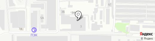 СеткаСарСтрой на карте Саратова