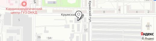 Спецкомплект на карте Саратова