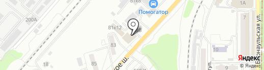 СМАЙЛ на карте Саратова