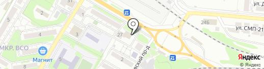 Магазин хозтоваров на карте Саратова