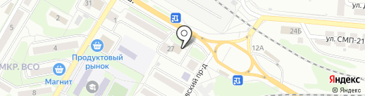 Ломбард Золотко на карте Саратова