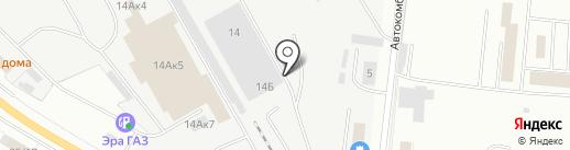 Автосервис грузовых автомобилей и спецтехники на карте Саратова